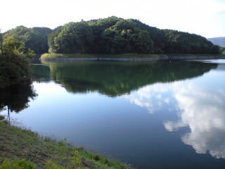 倉橋の溜池